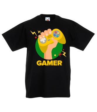 Zawodowy gracz - Koszulka z nadrukiem - dla Gracza - Dziecięca