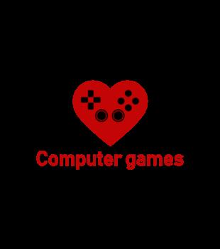 Milosnik gry komputerowej grafika na koszulke dziecieca 548