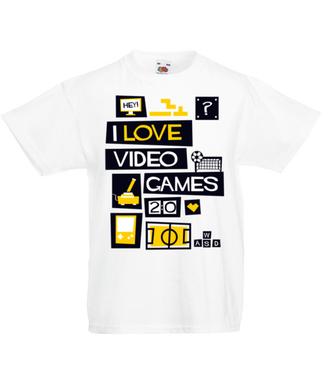 Miłośnik gier komputerowych - Koszulka z nadrukiem - dla Gracza - Dziecięca