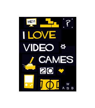 Milosnik gier komputerowych grafika na torbe 544