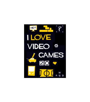 Milosnik gier komputerowych grafika na poduszke 544