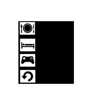 Tamagotchi grafika na bluze z kapturem meska 566