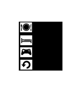 Tamagotchi grafika na poduszke 566