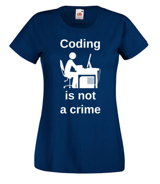 To nie jest przestępstwo… - Koszulka z nadrukiem - dla Gracza - Damska