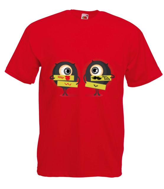 Wpadlas mi w oko doslownie koszulka z nadrukiem smieszne mezczyzna werprint 132 4
