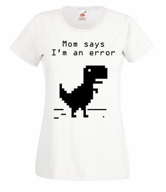 Jestem w zawieszeniu - Koszulka z nadrukiem - dla Gracza - Damska