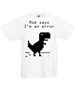 Jestem w zawieszeniu - Koszulka z nadrukiem - dla Gracza - Dziecięca