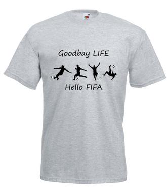 Rundka w fifkę - Koszulka z nadrukiem - dla Gracza - Męska