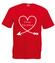 Moja druga polowa to ty koszulka z nadrukiem na walentynki mezczyzna werprint 585 4
