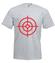 Strzelic prosto w serce koszulka z nadrukiem na walentynki mezczyzna werprint 597 6