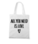 Wszystko czego potrzebuje to milosc torba z nadrukiem na walentynki gadzety werprint 599 161