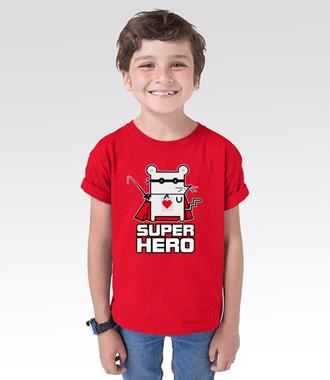 Mój tyci super-bohater - Koszulka z nadrukiem - Śmieszne - Dziecięca