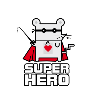 Moj tyci super bohater grafika na koszulke dziecieca 134