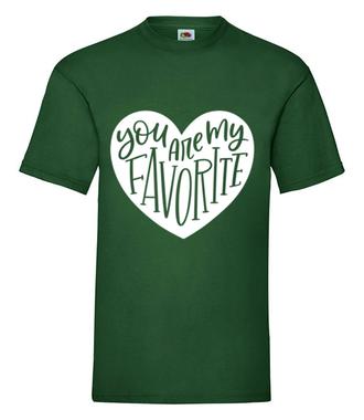 Jesteś moją wybranką/wybrankiem - Koszulka z nadrukiem - na Walentynki - Męska