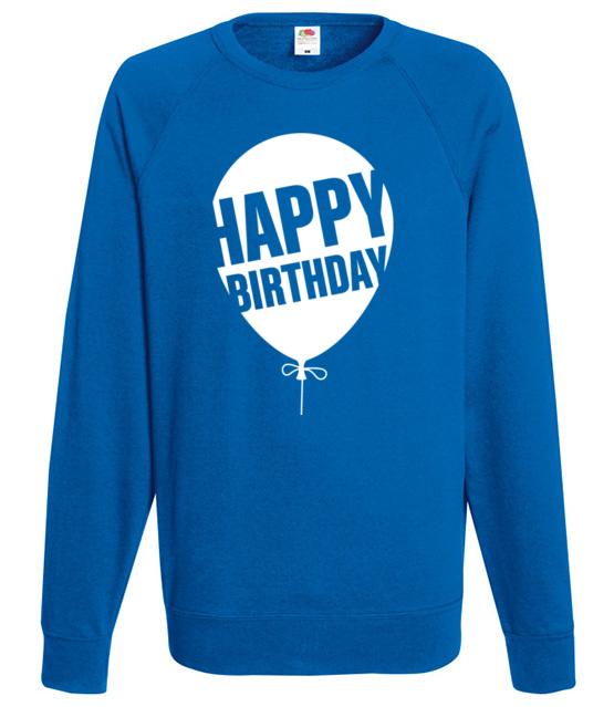 Najlepszego kochany bluza z nadrukiem urodzinowe mezczyzna werprint 615 109