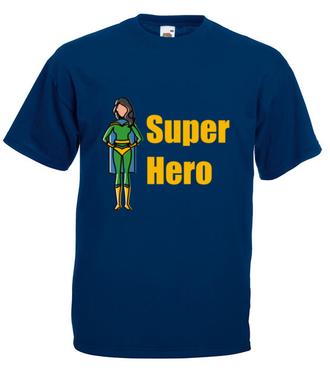 Kobiecy superbohater - Koszulka z nadrukiem - Filmy i seriale - Męska