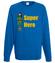 Kobiecy superbohater bluza z nadrukiem filmy i seriale mezczyzna werprint 654 109