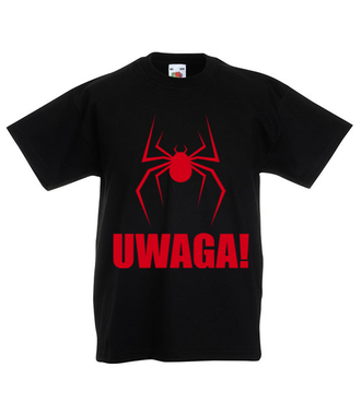 Uwaga na pająki - Koszulka z nadrukiem - Filmy i seriale - Dziecięca