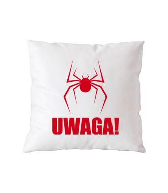 Uwaga na pająki - Poduszka z nadrukiem - Filmy i seriale - Gadżety