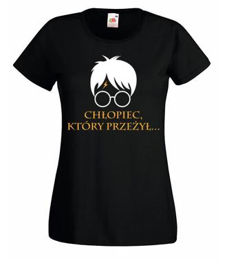 Harry i jego znamię - Koszulka z nadrukiem - Filmy i seriale - Damska