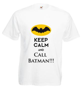 Dzwońcie po Batmana! - Koszulka z nadrukiem - Filmy i seriale - Męska