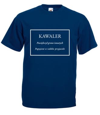 Świętej pamięci kawaler - Koszulka z nadrukiem - Wieczór kawalerski - Męska