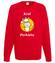 Krol parkietu jest tylko jeden bluza z nadrukiem wieczor kawalerski mezczyzna werprint 666 108