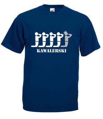 Świat kawalerów - Koszulka z nadrukiem - Wieczór kawalerski - Męska