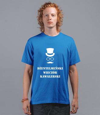 Dżentelmeński wieczór kawalerski - Koszulka z nadrukiem - Wieczór kawalerski - Męska