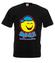 Bo usmiech jest dobry na wszystko koszulka z nadrukiem smieszne mezczyzna werprint 141 1