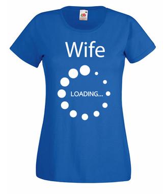 Niedługo żoną zostanę… - Koszulka z nadrukiem - Wieczór panieński - Damska