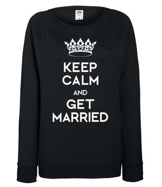 Mój ślub, moje marzenie - Bluza z nadrukiem - Wieczór panieński - Damska