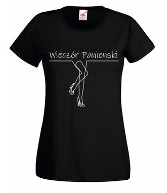 Wieczór panieński czas zacząć - Koszulka z nadrukiem - Wieczór panieński - Damska