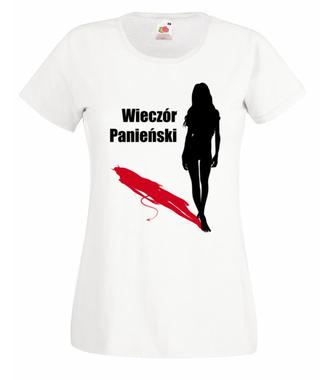 Ostatni dzień kobiecej wolności - Koszulka z nadrukiem - Wieczór panieński - Damska