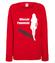 Ostatni dzien kobiecej wolnosci bluza z nadrukiem wieczor panienski kobieta werprint 728 116