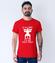 Czterdziecha u miesniaka koszulka z nadrukiem urodzinowe mezczyzna werprint 756 54