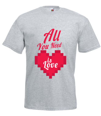 To wszystko, czego potrzebujesz... - Koszulka z nadrukiem - na Walentynki - Męska