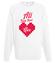 To wszystko czego potrzebujesz bluza z nadrukiem na walentynki mezczyzna werprint 741 106