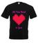 All you need is love koszulka z nadrukiem na walentynki mezczyzna werprint 743 1