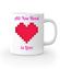 All you need is love kubek z nadrukiem na walentynki gadzety werprint 743 159