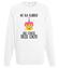 Czterdziestoletnie ciasteczko bluza z nadrukiem urodzinowe mezczyzna werprint 745 106