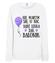 Badz lekka jak balonik bluza z nadrukiem urodzinowe kobieta werprint 748 114