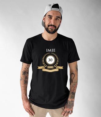 Magiczna liczba - Koszulka z nadrukiem - Urodzinowe - Męska