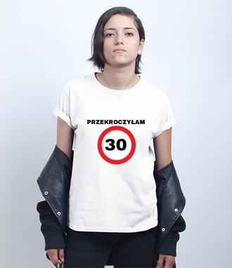 Zakaz złamany - Koszulka z nadrukiem - Urodzinowe - Damska