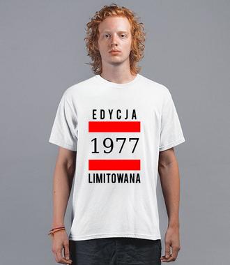 Edycja limitowana - Koszulka z nadrukiem - Urodzinowe - Męska