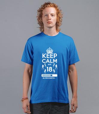 Urodziny – ładowanie - Koszulka z nadrukiem - Urodzinowe - Męska