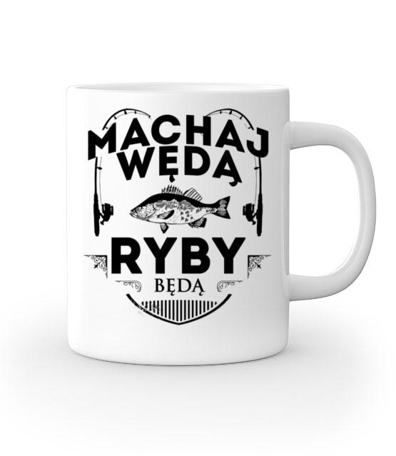 Machaj machaj ino zwawo kubek z nadrukiem wedkarskie gadzety werprint 818 159