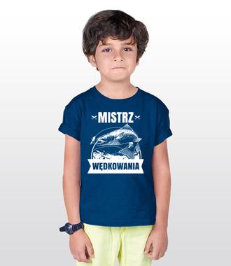 Mistrz może być tylko jeden - Koszulka z nadrukiem - Wędkarskie - Dziecięca