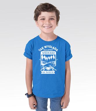 Najlepszy wędkarz na świecie  - Koszulka z nadrukiem - Wędkarskie - Dziecięca
