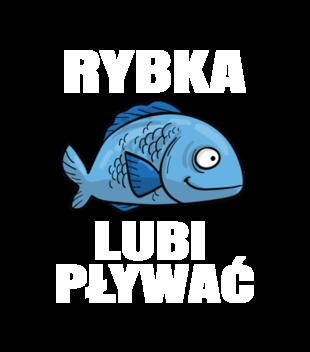 Bo rybka przeciez lubi plywac grafika na koszulke dziecieca 845